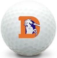 3 Dozen Nike Mix Mint / AAAAA (Denver Broncos NFL BIG D LOGO) Golf Balls