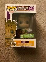 Funko POP! Guardians of the Galaxy - Vinyl Bobble - GROOT (Glows in Dark) Loot