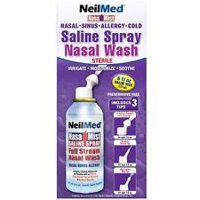 NeilMed NasaMist All In One Saline Spray Nasal Wash 177ml
