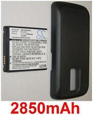 Carcasa + Batería 2850mAh tipo BL-49KH EAC61678801 para LG Nitro HD P930