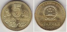 CHINE   5 JIAO 1997  PR NEUF