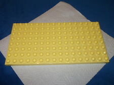 Lego Duplo Bauplatte Platte 1 X 8 X 16er Noppen hell Gelb Hellgelb 10505 5639 a