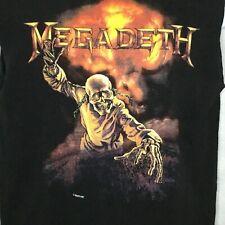 Vintage MEGADETH Tour T Shirt Sz M Peace Sells Concert Promo Cut Off Sleeves