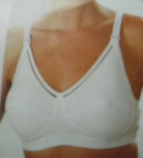 MARLON NURSING/MATERNITY BRA WHITE SIZES 34-36-38-40.
