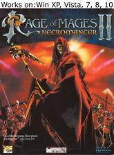 Rage of Mages II 2 Necromancer PC Game 1999 Windows XP Vista 7 8 10
