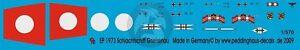 Peddinghaus 1/570 Gneisenau Battleship WWII Markings w/Floatplane (Revell) 1973