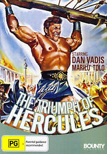 The Triumph of Hercules-DVD-Dan Vardis-Marilu Tolo-R4-NEW-BF298