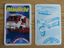 Cuarteto bomberos luz azul uso policía mitsubishi galant RTW