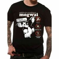 OFFICIAL Gremlins T Shirt Instructions Guide Mogwai Gizmo Horror Christmas NEW