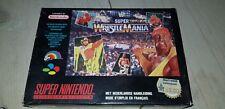 * Super Nintendo * WF Super Wrestle Mania * RARE * FAH * SNES * WrestleMania *
