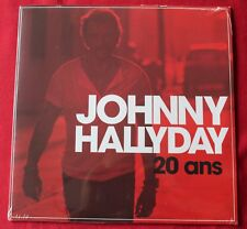 Johnny Hallyday, 20 ans / priere pour un ami, maxi vinyl 25cm - vinyl rouge