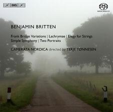 Benjamin Britten : Benjamin Britten: Frank Bridge Variations/Lachrymae/... CD