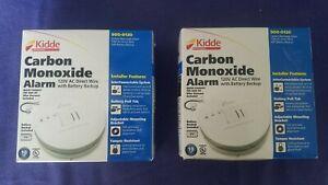 2 Kidde Carbon Monoxide Alarms 120 V Direct w Battery Backup 900-0120 (KN-COB-IC