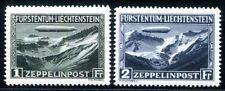 LIECHTENSTEIN 1931 114-115 ** POSTFRISCH ZEPPELIN 650€(Z2430