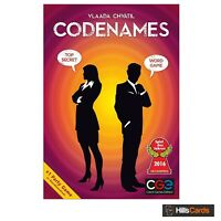 Codenames Word Game Top Selling Party Game by Vlaada Chvatil Card Board CGE00031