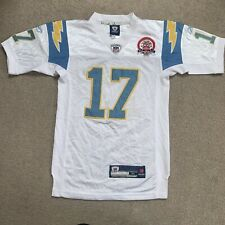 NFL Los Angeles Chargers 50th Anniversary Jersey, 17 RIVERS, YOUTHS MEDIUM
