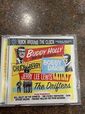 ROCK AROUND THE CLOCK RHINO CD,Chuck Berry, Buddy Holly,Everly Bros,Four Seasons