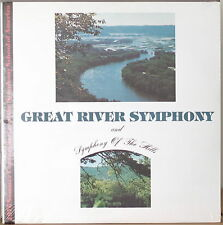 GREAT RIVER SYMPHONY/SYMPHONY OF THE HILLS-SEALED1976 2LP Symph School of Amer