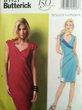 Butterick Sewing Pattern 5921 Dresses Maggy London Sizes 8 10 12 14 16 New