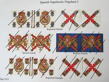 15 mm napoléoniennes drapeaux espagnols 1