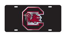 USC SOUTH CAROLINA Black Gamecocks License Plate / Car Tag