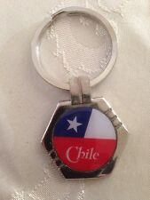 Chile Flag Keychain # 3.