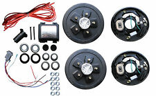 Add Brakes to Your Trailer! Complete Kit 3500# Axle 5 x 5.0  Electric Axel Drum
