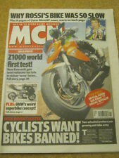 MCN - MOTORCYCLE NEWS - Z1000 TEST - 14 March 2007