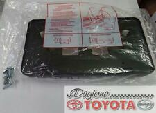 OEM TOYOTA CAMRY FRONT LICENSE PLATE HOLDER 75101-06030 FITS 2015-2017 LE, XLE