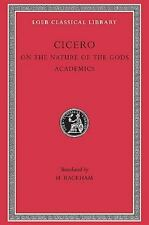 Cicero: On the Nature of the Gods (De natura deorum) / Academica (Loeb Classica