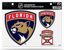 Florida Panthers Multi Die Cut Magnet Sheet Auto Home Heavy Duty NHL Hockey
