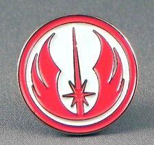Metal Enamel Pin Badge Brooch Star Wars Starwars SW Jedi Order Logo Red White