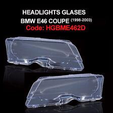 Vetro faro fanale anteriore BMW Serie 3 E46 1998-2003 Coupe / Cabriolet NUOVO!