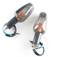 2PC Smoke Turn Signal Indicator Left Right Light For Honda HORNET 250 600 VTR250