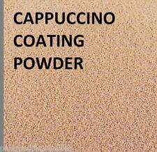 1 LT TUB FISHING WEIGHT MOULD LEAD COATING POWDER CAPPUCCINO