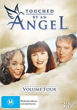 TOUCHED BY AN ANGEL : VOLUME 4  -  DVD - UK Compatible - Sealed