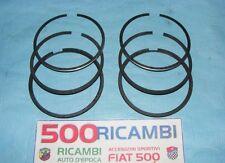 FIAT 500 F/L/R 126 SERIE COMPLETA FASCE ELASTICHE PER 2 PISTONI Ø77 MOTORE 650cc