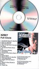 XZIBIT Full Circle 2006 UK 14-track promo test CD