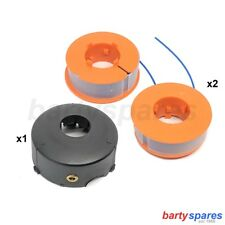 Spool Cover Head & 2 Line for  BOSCH PRO TAP ART 26 30 COMBITRIM EASYTRIM PROTAP
