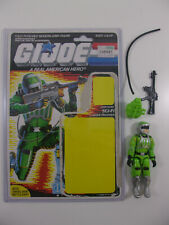 Vintage Hasbro 1986 GI Joe ARAH SCI FI Figure 100% Complete W/ FULL File Card