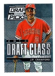 2013 Panini Prizm Perennial Draft Picks Baseball JP Crawford J.P. Rookie Card NM