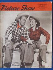 Picture Show Magazine - 24/2/1951 - Alan Ladd & Mona Freeman Cover