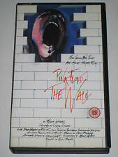 PINK FLOYD-THE WALL 1982 RARE VHS VIDEO ROGER WATERS ALAN PARKER / PROG ROCK