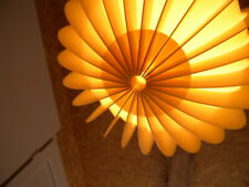 XXL Kugel Lamellenlampe Bent Gantzel Boysen Leuchte Schweden 70er IKEA swedish