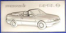 Placca Badge BERTONE  Opel Astra Cabrio #KG281