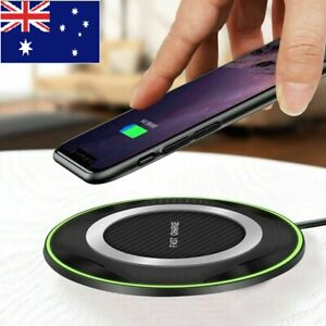 10W Qi Wireless Charging Charger Pad for Smartphone XS Max XR Samsung S8 S9 S10+
