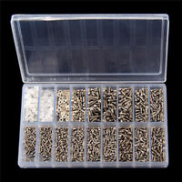 1000x Micro Repair Kit Glasses Sunglass Watch Spectacles Screws Nuts Screwdriver