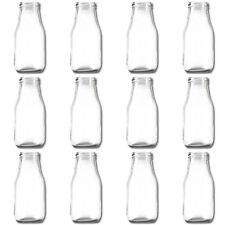 x 12 verre, bouteille vase tischvasen EN VERRE déco petit