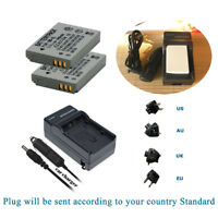 2xBattery for Canon PowerShot SX200 IS SX210 IS SX220 HS SX230 HS NB-5L +Charger