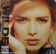 "KIM WILDE - Four Letter Word ~ 7"" Single PS"